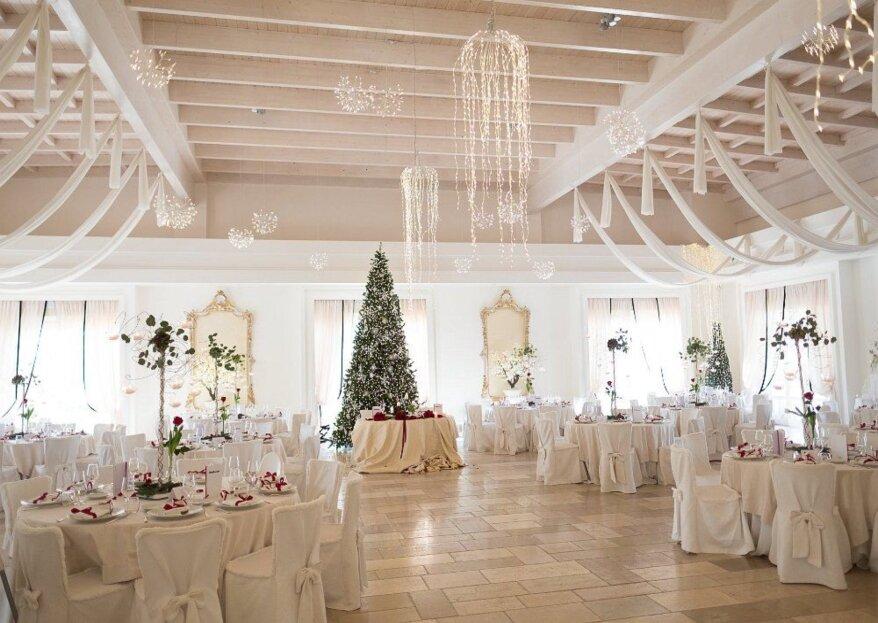 Villa Ciccorosella ricevimenti: arredamento elegante per una location matrimoniale da sogno