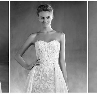 ae51bf14edb2 I 50 abiti da sposa più belli della collezione Pronovias 2017
