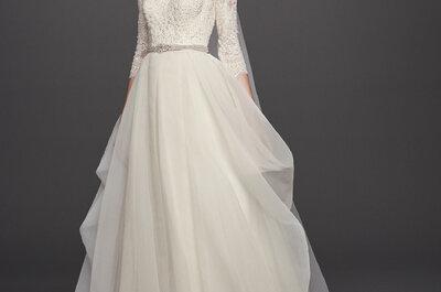 ¡David's Bridal llega a México! Vestidos de novia que te harán lucir como toda una princesa