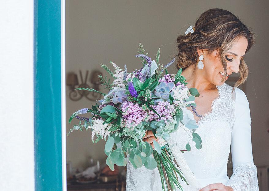 5 bouquets de casamento com suculentas que adoraria ter