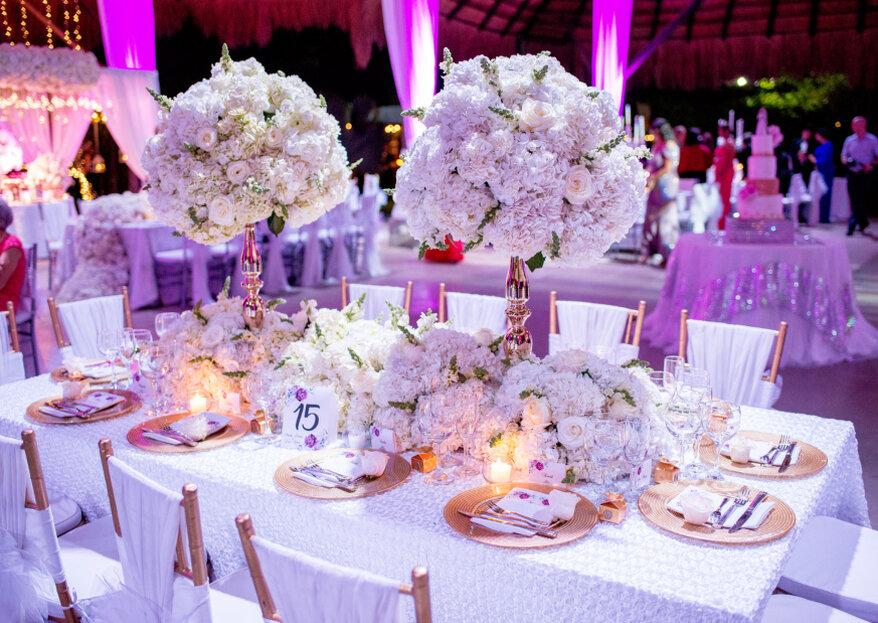 M&O BY Entremanteles: 5 elementos muy importantes en el proceso de planeación de su boda