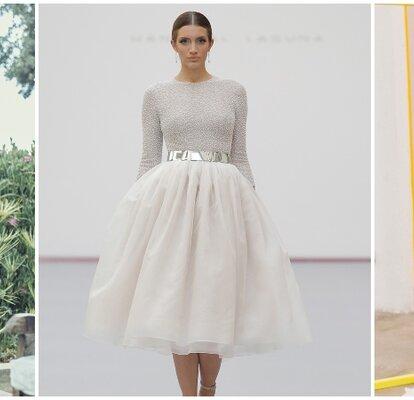 6c4ad02c8e Vestidos de novia para boda civil 2019. Más de 40 diseños para suspirar