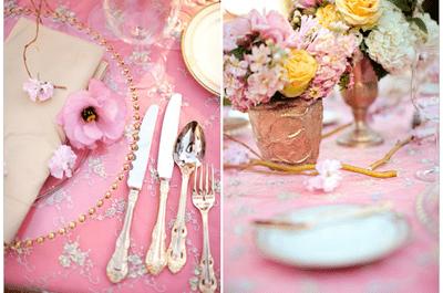 6 colores en tendencia para decorar tu boda en primavera 2014