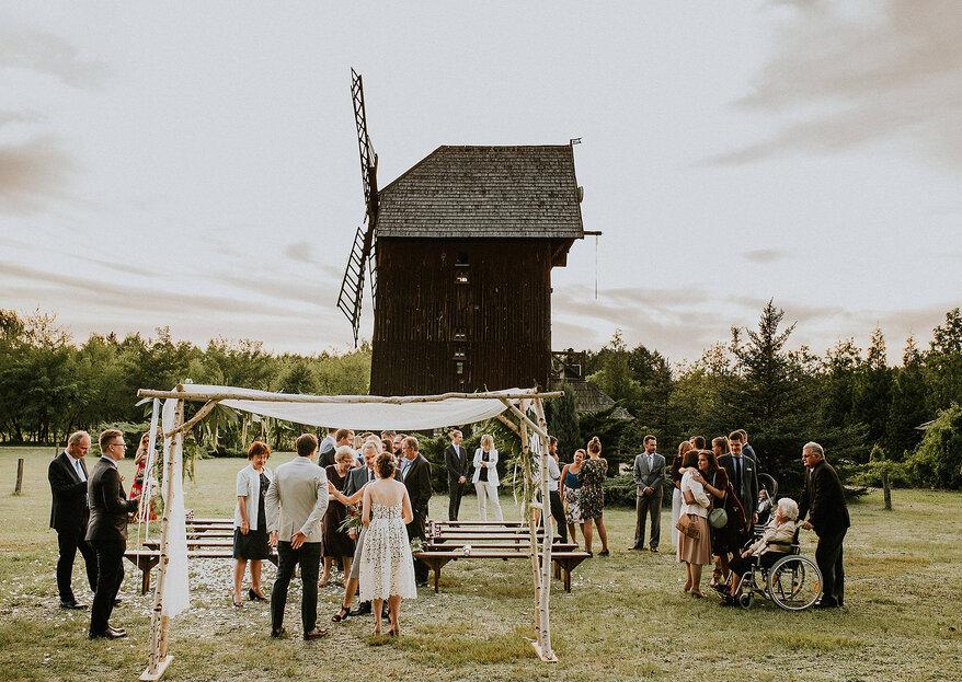Tradycyjne polskie wesele z rustykalną oprawą