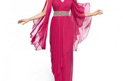 Tendencias en vestidos de fiesta largos Pronovias 2013