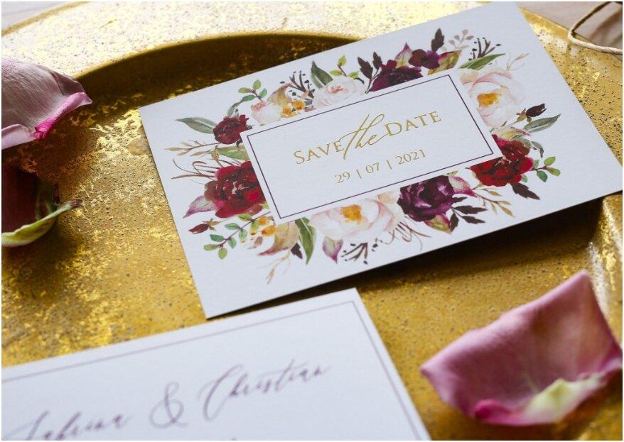 6 tips voor de save the date kaart!