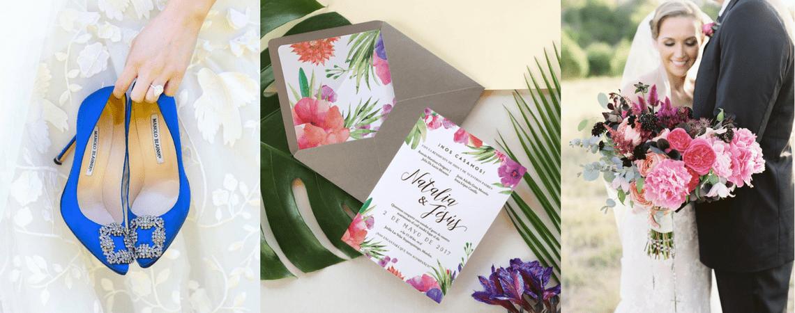 Adiós al minimalismo: llena tu boda de colores y alegría ¡hasta en el último rincón!