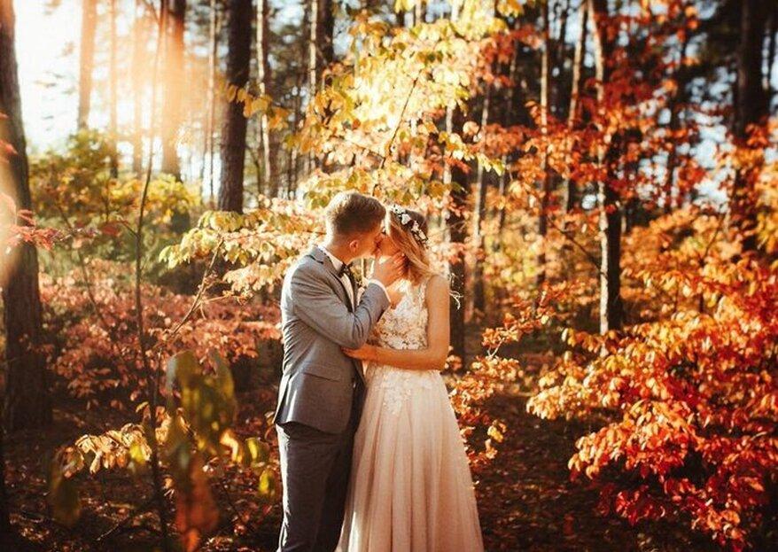 Le location migliori per accogliere le tue nozze nel periodo autunnale? Eccole qui!