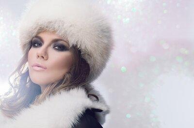Тенденции 2015: Свадебный макияж Smokey Eyes для смелых невест