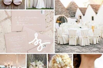 Tu boda en colores neutros: Un marco de ligereza y elegancia absoluto
