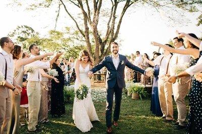 Casamentos modernos: tudo o que você precisa saber para ter um casamento com sua cara!