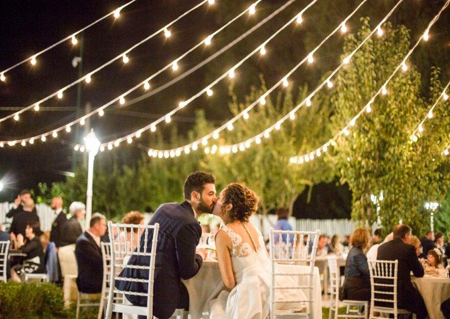 Uno scenario spettacolare per convolare a nozze, a Feudo della Selva