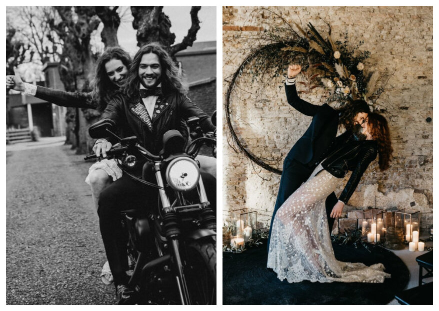 Styled Wedding Shoot met een stoer thema: Rock and Love Forever