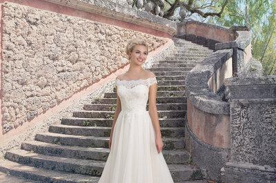 Robes de mariée Sincerity 2016 : des modèles délicats pour une mariée romantique