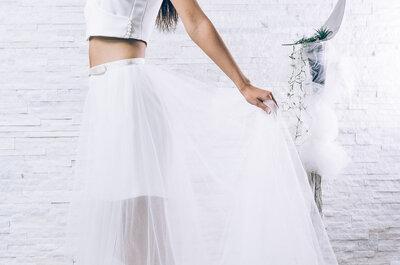 Envie d'une robe de mariée sur mesure, cintrée, raffinée et moderne ?