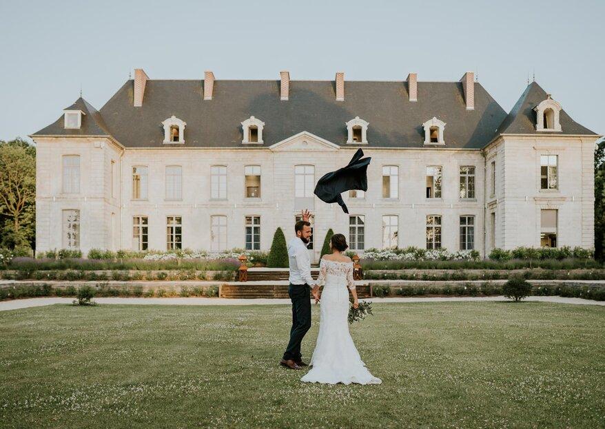 Aurélie et Jérémy : un mariage émouvant et sans stress dans le Nord de la France