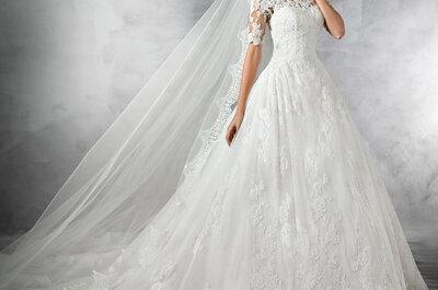 10 vestidos de novia vistos en Pinterest que te inspirarán para tu gran día