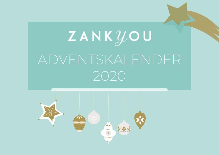 Der große Zankyou Adventskalender: 24 tolle Überraschungen warten auf Sie!
