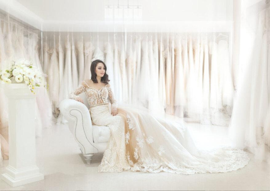 Cómo elegir el escote del vestido de novia según la forma de tu rostro