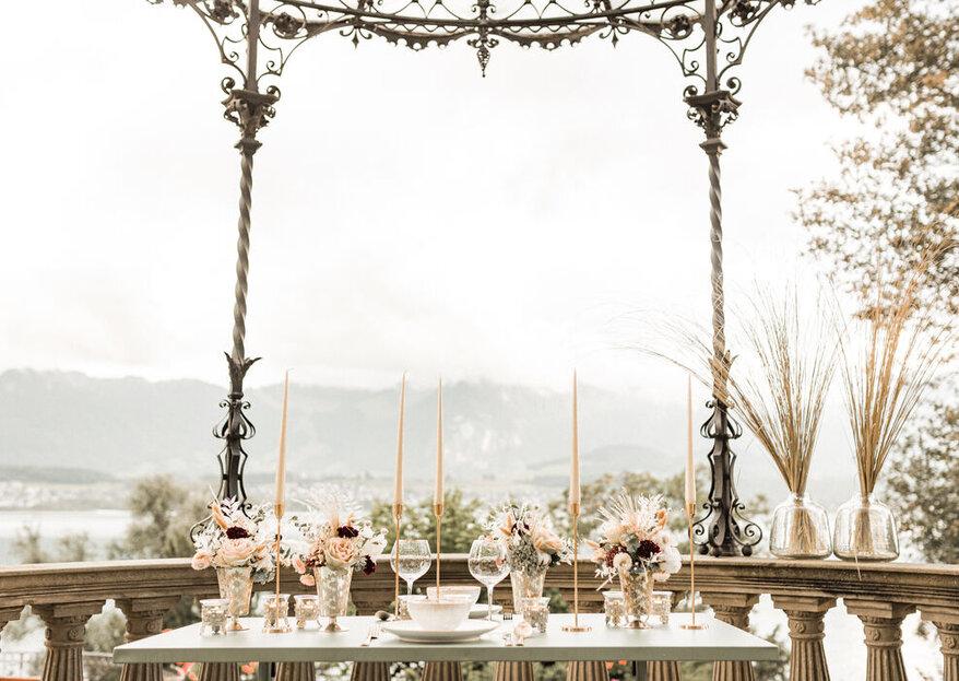 Hochzeit feiern im Nude-Chic: Mit diesen Dienstleistern gelingt es!