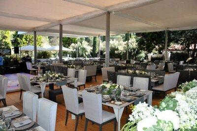 15 ideas originales para celebrar una boda rustic chic en Los Alamares
