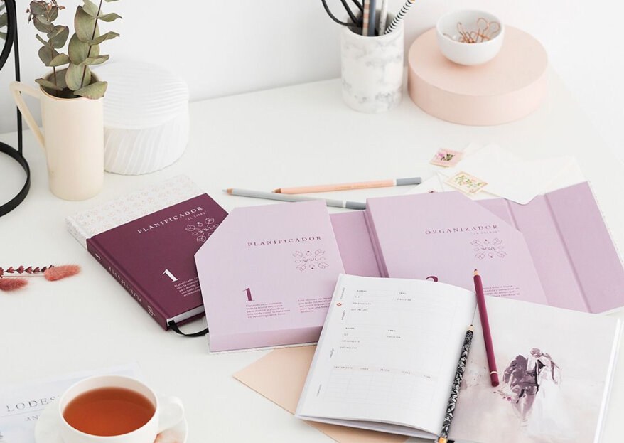 Diarios y agendas de boda imprescindibles para las novias más organizadas