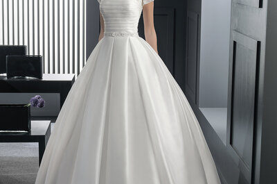 Princess cut gowns: Classic or glam?