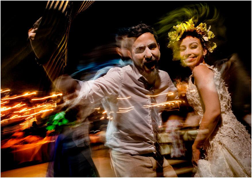 'Prende' la fiesta de tu boda con estas 5 ideas originales