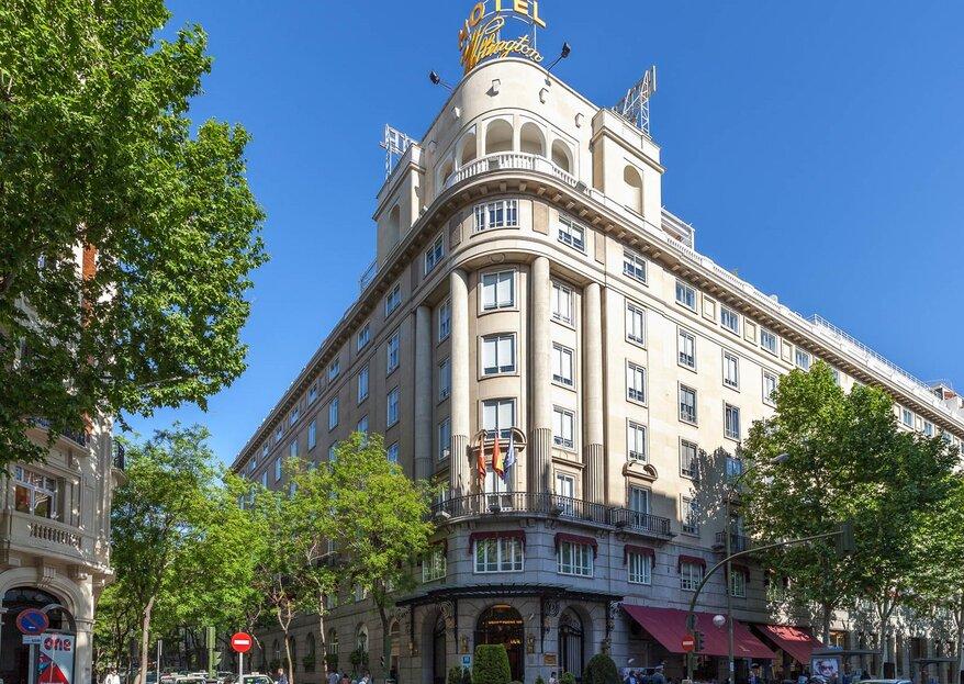 ¿Boda urbana en la capital? El Hotel Wellington os abre las puertas a vuestro sueño