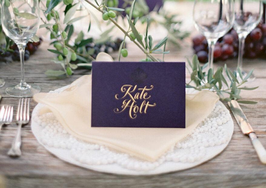 Kreative Tischnamen bei der Hochzeit: einfallsreiche Ideen, um unpersönliche Zahlen zu vermeiden