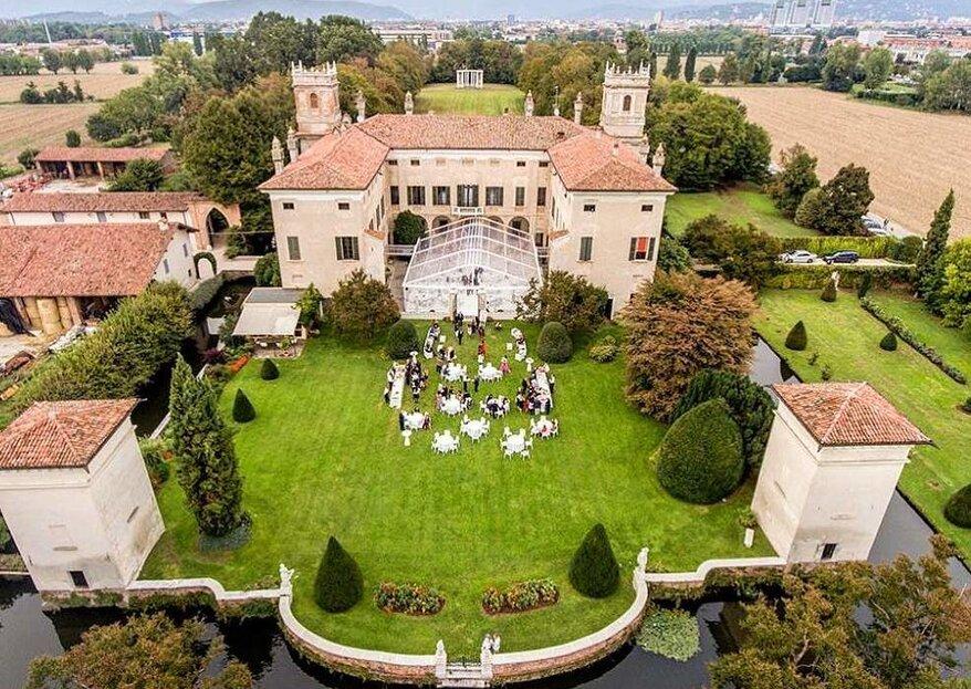 Villa Il Labirinto : choisissez l'excellence pour votre grand jour en Italie