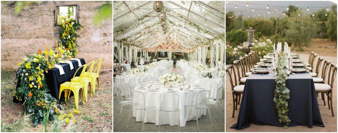 Decoración de mesas para la celebración de tu boda: ¡estilos para sorprender en este 2018!