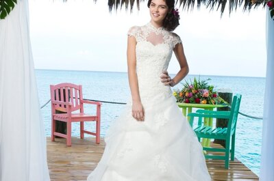 Romantic wedding dresses from the Sincerity Collection 2014