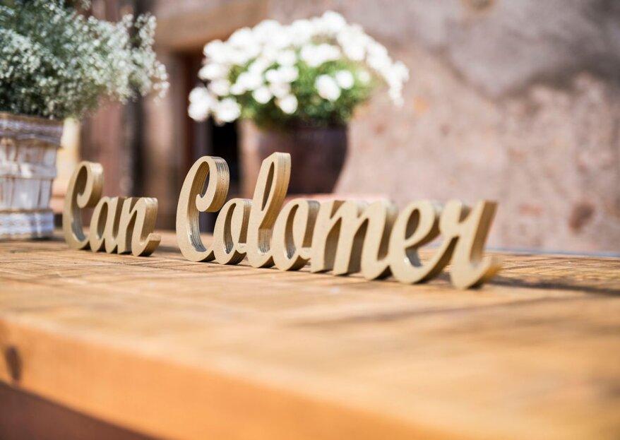 Masía Can Colomer: el lugar de lujo ideal para una boda íntima en plena naturaleza