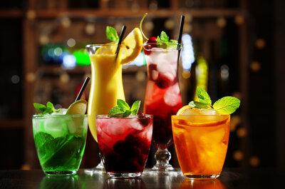 Cócteles y bebidas: Un menú especial diseñado para tu boda