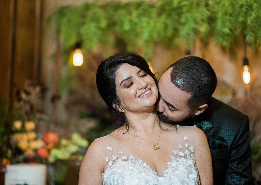 Ray & John: Casamento boho-industrial na Casa Quena para celebrar um reencontro emocionante e avassalador