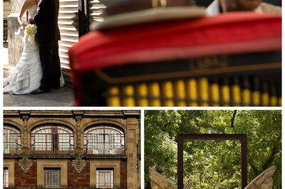 Sesión de fotos de Ziomara y Marcelo en el Centro Histórico DF