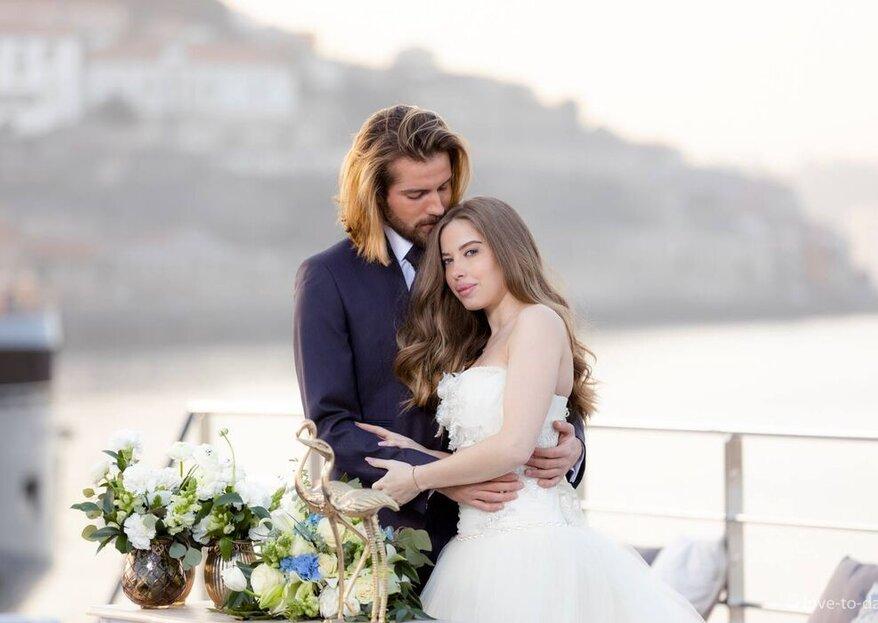 Douro Wedding - Casamento no Barco: entre a bordo num casamento totalmente out of the box!