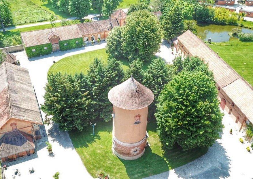 Le Domaine du Parc de Pontcarré vous propose un cadre que vos invités ne sont pas prêts d'oublier