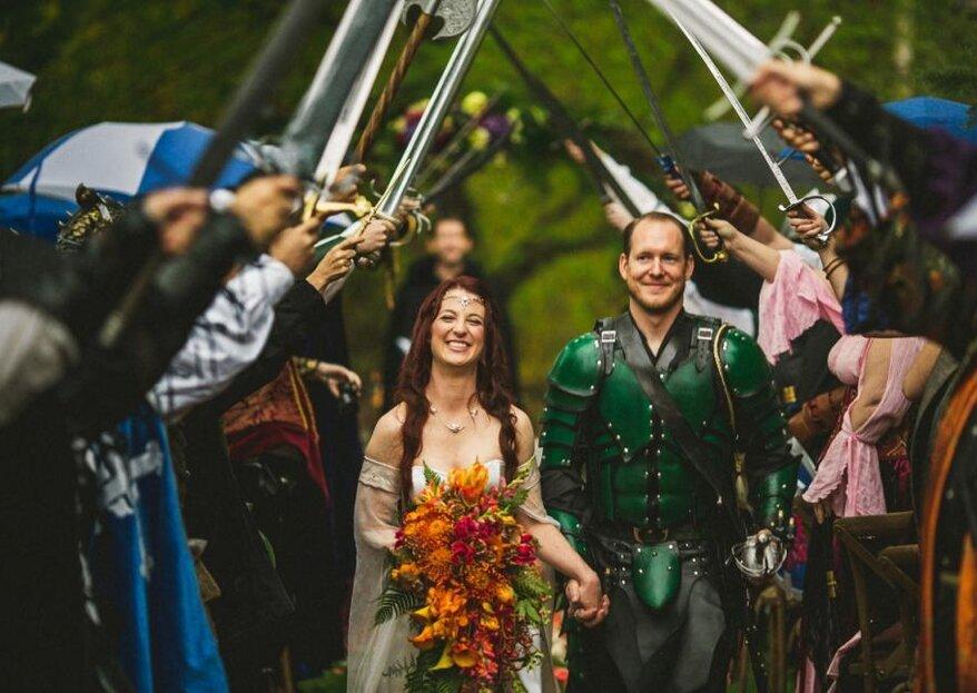 Cómo organizar una boda temática en 5 pasos