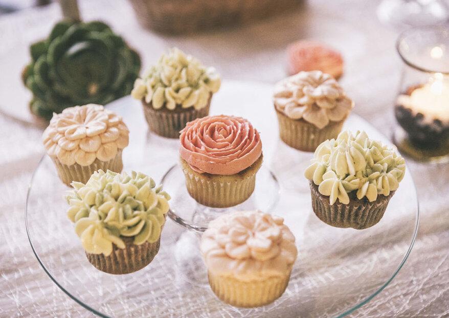 Equilibrio entre estética y sabor, el secreto de las mesas de postres de Cupcakes Inc