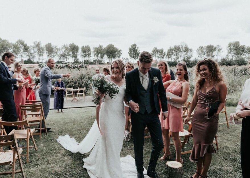 De trouwceremonie: zo maak je de huwelijksceremonie uniek!