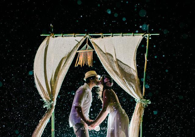 Gabi & Gê: casamento intimista em Búzios para celebrar a sonhada troca de alianças