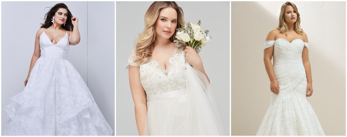 Wedding Dresses for Plus-Size Brides: Steal the Show at Your 2019 Wedding