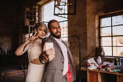 Aspectos positivos y negativos de publicar tu boda en las redes sociales
