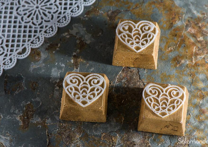 Ana Foster Chocolates: docinhos personalizados e sabores exclusivos para o seu grande dia!
