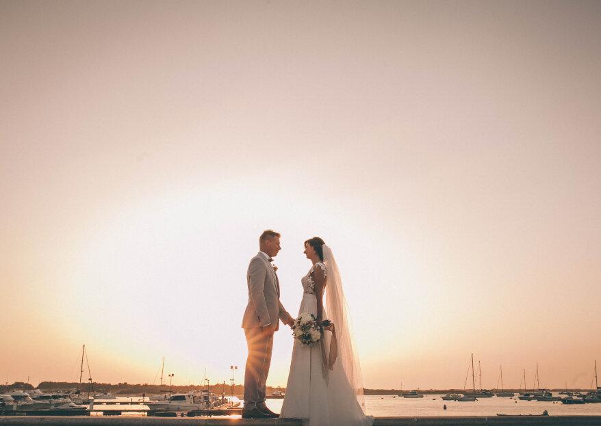 Amor a primera vista: la boda de Tetiana y Ronni