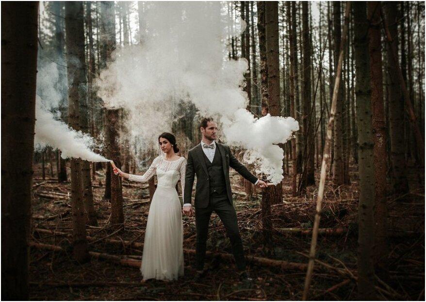 Kies een originele themakleur voor je bruiloft met deze 5 stappen!