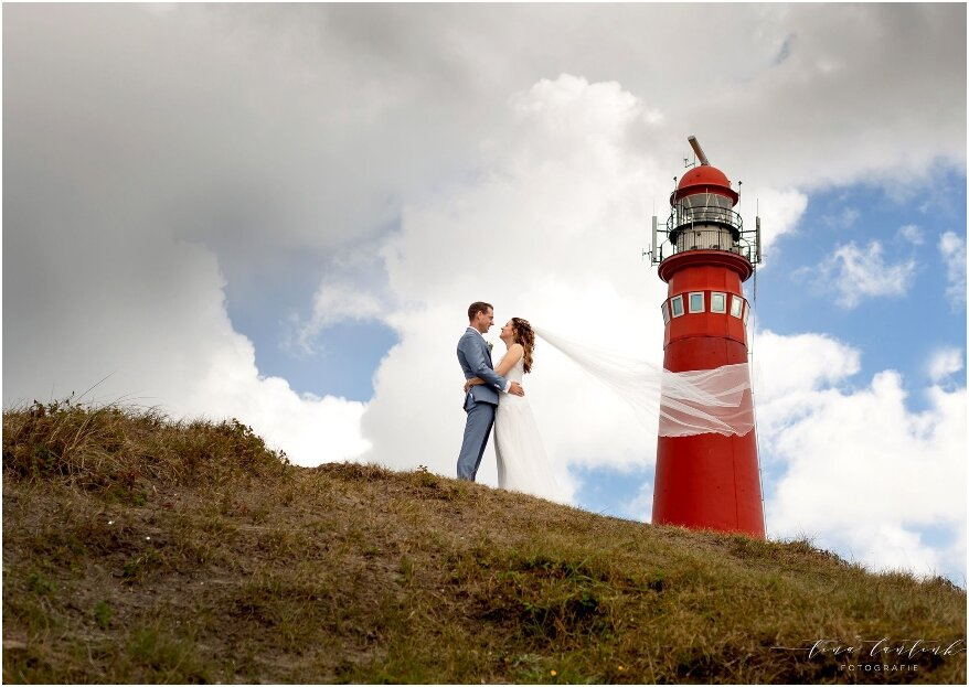 De real wedding van Sem en Annemiek op Schiermonnikoog