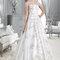 Piękna suknia slubna z odkrytymi ramionami, Foto: Agnes 2015